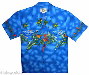 Original M Hawaii S Ky´s Papageien Hawaihemd Xl L Hawaiishirt ZnwdYCgq