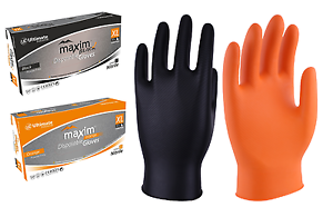 Tattoo 500 x UCI DG-Maxim™ Premium Extra Thick NBR Nitrile Disposable Gloves