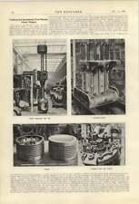 1921 Trials Of Beardmore Tosi Marine Diesel Engine