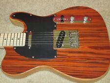 Beautiful Santos Rosewood Tele Style Cozart Custom Electric guitar stl01 srv