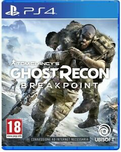 TOM CLANCY'S GHOST RECON BREAKPOINT PS4 - ITALIANO - OFFERTA