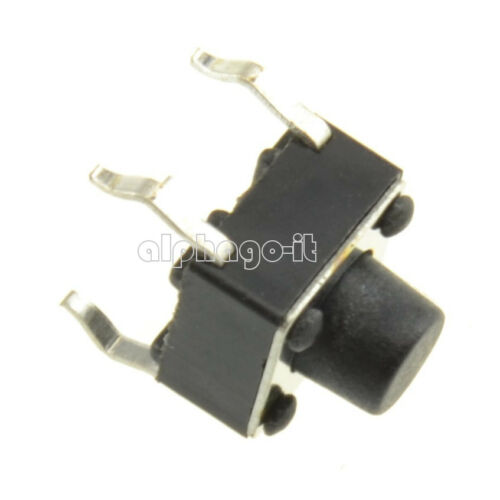 100PCS 6x6x6mm Miniature Micro Momentary Tactile Tact Touch Push Button Switch