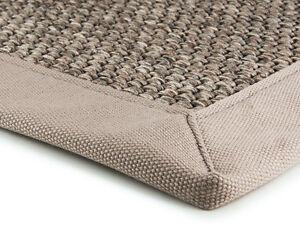 Super-Yute-Alfombras-De-Lona-bordeado-alfombra-de-arena-en-Fibra-Natural-Sisal-Look-200x300cm