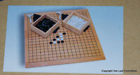 Brand Go Strategy Game Wood Board, Stones 18 Board Sealed