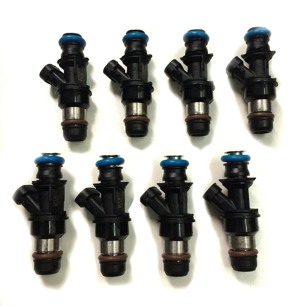 New Fuel Injectors For Delphi 2004-2010 For Chevy for GMC  4.8 5.3 6.0 6.2