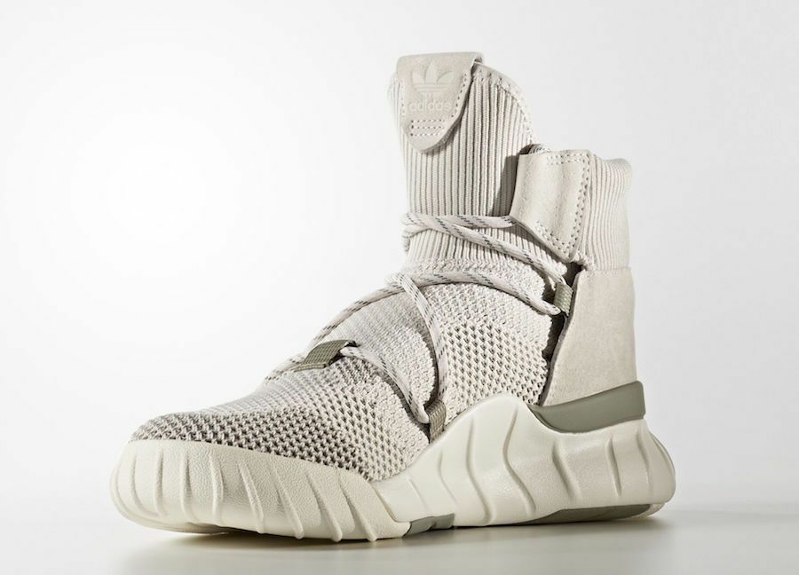 Adidas (primeknit x 2.0 sz 8 / by9748 pearl Grau / 8 pearl Grau / cremefarbig 814d93