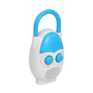 Mini Am Fm Duschradio Badezimmer Wasserdichtes Radio Hangendes Musikradio K7q0 Ebay