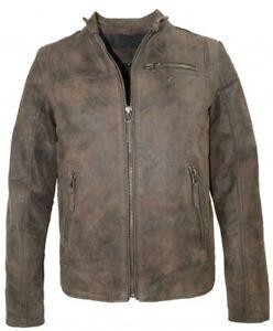 online zum Verkauf neueste auswahl konkurrenzfähiger Preis Details zu Tom Tailor - Herren Lederjacke echtes Leder braun-oliv