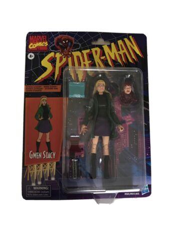 Spider-Man Rétro Marvel Legends Gwen Stacy 6-inch Action Figure Par Hasbro