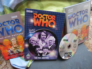 Doctor-Dr-Who-The-Five-Doctors-DVD-Edition-Speciale-Dr-Who-Rare-Etui