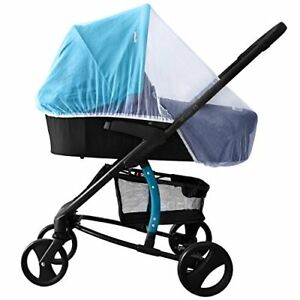 NEW-White-Mosquito-Bugs-Net-Mesh-Cover-for-Baby-Child-Bassinet-Strollers-Cosatto