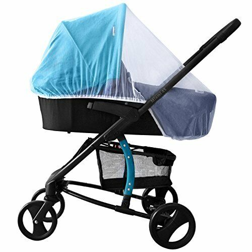 New White Mosquito Bugs Net Mesh Cover for Baby Child Bassinets Joolz Strollers