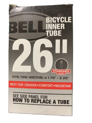 """Bell Standard Schrader Vélo Tube Intérieur 26/"""" X 1.75-2.25/"""""""