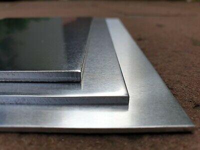 Alublech 3 mm tôle Bandes aluplatte découpe sur mesure ✔ Aluminium Tôle alutafel