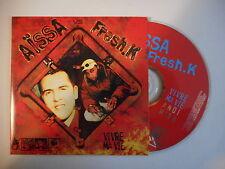 AISSA FRESH.K : VIVRE MA VIE [ CD SINGLE PORT GRATUIT ]
