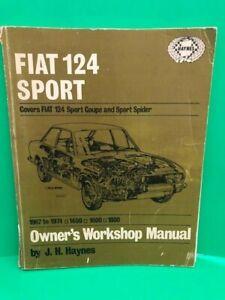FIAT-124-Owner-039-s-Workshop-Manual-by-Haynes