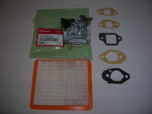 Honda Engine Carburetor ALL HRB216TDA HRB216HXA SERIES 5 Gaskets /& Air Filter