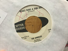 The Shirelles What Does A Girl Do? Don't Let It Happen To Us Promo 1259 Soul