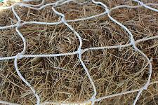 """Horse Hay Round Bale Net Feeder 4"""" Save $$ Eliminates Waste Fits 4' x 5' Bales"""