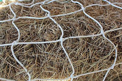 """Horse Hay Round Bale Net Feeder Eliminates Waste Fits 5/' x 5/' Bales  1 1//2/"""" #36"""