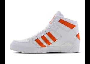 Détails sur Adidas Hardcourt pour Homme Summer Craft Hi Top Baskets Blanc Orange BB7760 afficher le titre d'origine