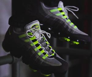 ea089d0f627 Nike Air Vapormax 95 Neon size 12.5. AJ7292-001 Black Volt Medium ...