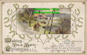 R420174 Wishing You a Merry Christmas. Wildt and Kray. Series 2515. 1913