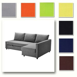 Ikea schlafcouch friheten  Custom Made Cover Fits IKEA FRIHETEN Sofa Bed with Chaise, Hidabed ...