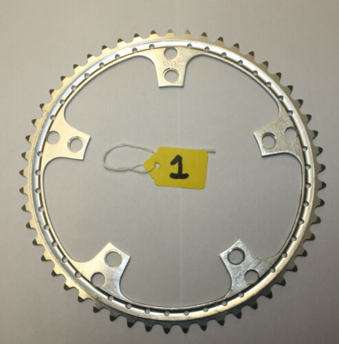 NOS 53T 144 BCD DRILLED CHAINRING FIT CAMPAGNOLO FOR ROAD RACING BIKE NO.1