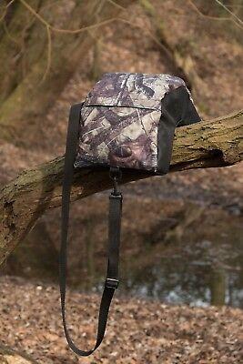 Camera Bean Bag U Shape FILLED Waterproof True Timber HTC Cordura, 900 Grams