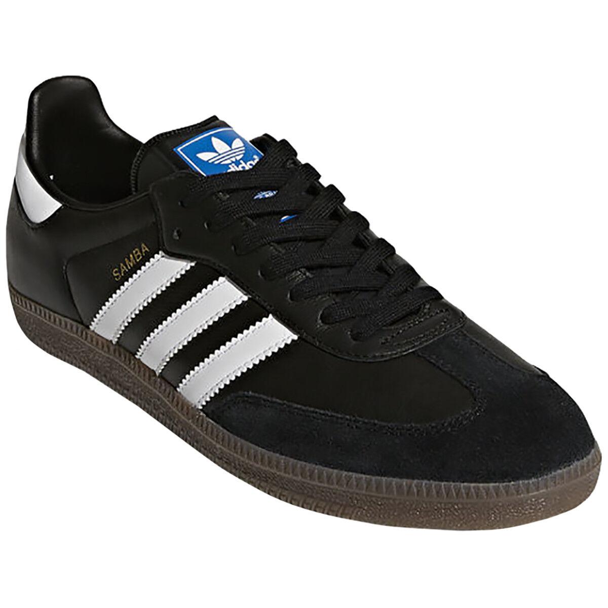 Adidas Originals Samba OG OrthoLite Leather Casual shoes - Black White Gum