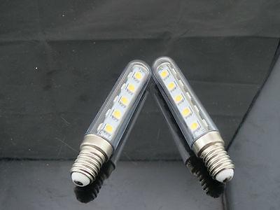 2X E14 2.5W LED LIGHT BULB FOR RANGE HOOD SMOKE EXHAUSTER CHIMNEY COOKER KITCHEN