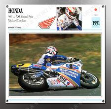 VINTAGE Honda 500cc NRS Grand Prix IMAGE BANNER NOS IMAGE REPRODUCTION