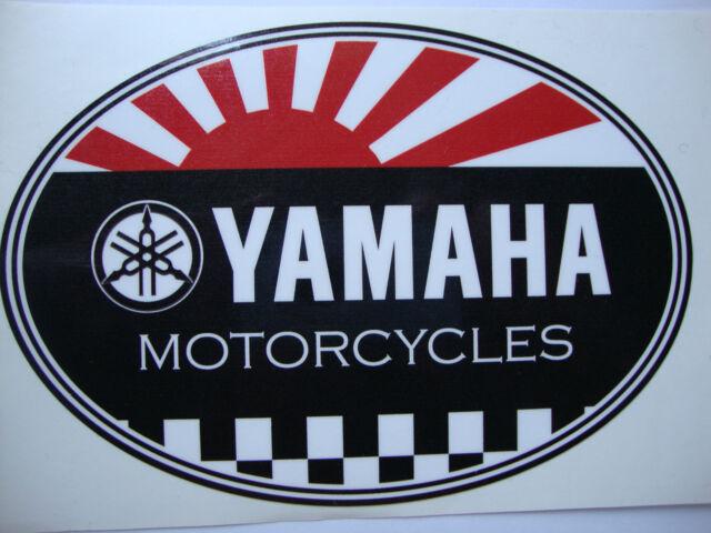 """2  BIKER STICKERS  3/"""" x 2/"""" MOTORBIKE HELMET  IOM TT SUZUKI HONDA YAMAHA"""