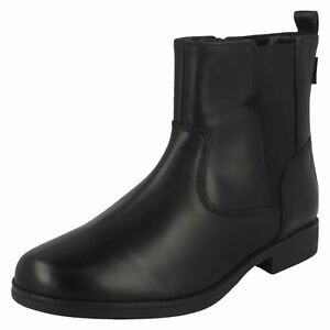 1b909f2c642 Details about Clarks SAMI SO GTX Leather Ankle Boot