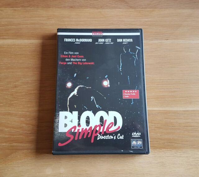 ### Blood Simple (Director's Cut) DVD - Coen ###