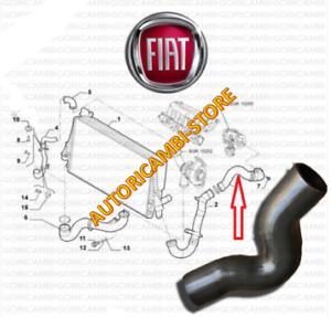 S1294 MANICOTTO INTERCOOLER SCAMBIATORE FIAT NUOVA CROMA 1.9 JTDM 110 KW 150 CV