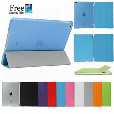 Smart Cover and Hard Back Case for Apple iPad 6th Gen iPad 5 4 3 2 mini Air