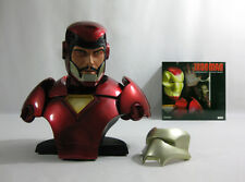 2007 Marvel Sideshow ✧ IRON MAN ✧ Legendary 1:2 Scale Bust nr MIB