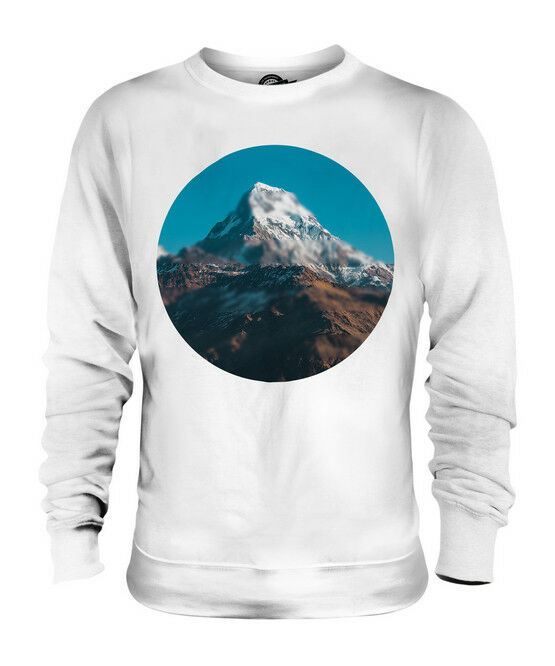 HIMALAYA MOUNTAIN UNISEX SWEATER  TOP GIFT NATURE BLUR