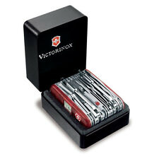 Victorinox Swiss Army Knife, Swisschamp XAVT, Ruby Red Knife # 53509, New In Box