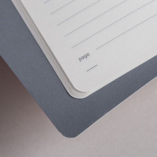 MY20-07 A5 Notebook Matilda Myres Lined Pages Grey