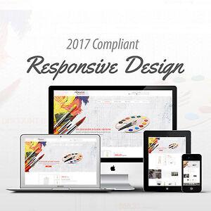 Premium Art Supply Responsive Mobile Ebay Auction Listing Template - Free responsive ebay template