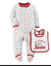 09ee73061 Baby Carter s First Thanksgiving Turkey Pajamas Bib Sizes 3 Month ...