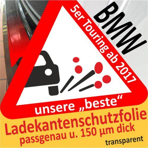 BMW 5er Touring G31 Ladekantenschutz Folie Lackschutzfolie transparent