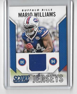 2015 SCORE NFL FOOTBALL SCORE JERSEYS MARIO WILLIAMS JERSEY BUFFALO BILLS   eBay