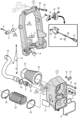 Volvo Penta Transom Dichtung Set Für Sx-A Drives 3853807 3841481 3888916 3889788