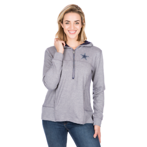 Dallas-Cowboys-Women-039-s-Portia-Quarter-Zip-Hoody