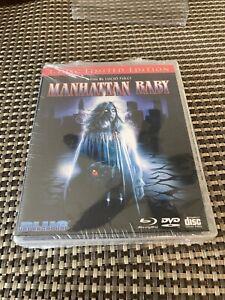 Manhattan-Baby-Edicion-Limitada-nuevo-Bluray-dvd-Paquete-de-3-Con-Protector-De-Vinilo-Libre