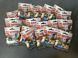 Lego Ninjago Movie Lot Of 20 Sealed Mini Figure Blind Bags ...